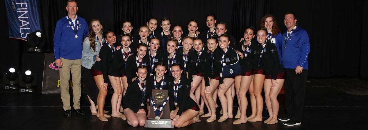 GHS Varsity Dance Team State Runners Up 2020