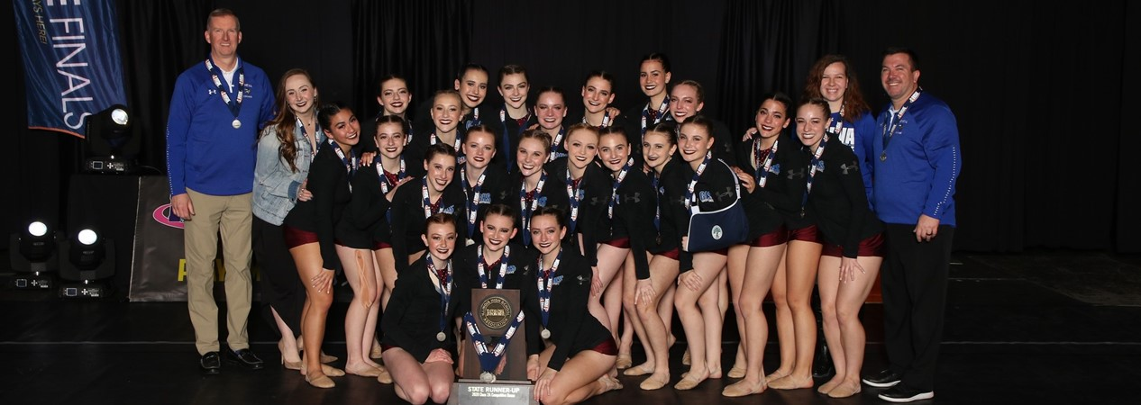 GHS Varsity Dance Team State Runners Up 2020