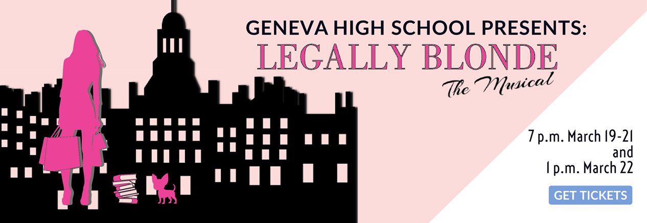 Tickets now on sale for Legally Blonde Musical at GHS - please click to purchase