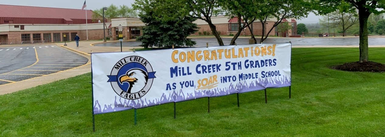 MCS Banner for Fifth Graders
