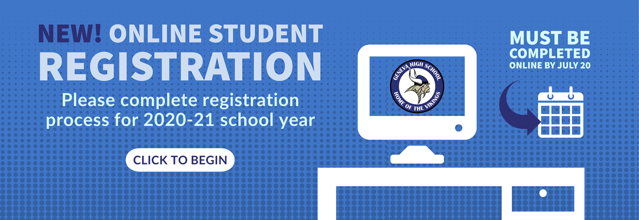 GHS Online Student Registration Process Due by July 20 - Click to get started!