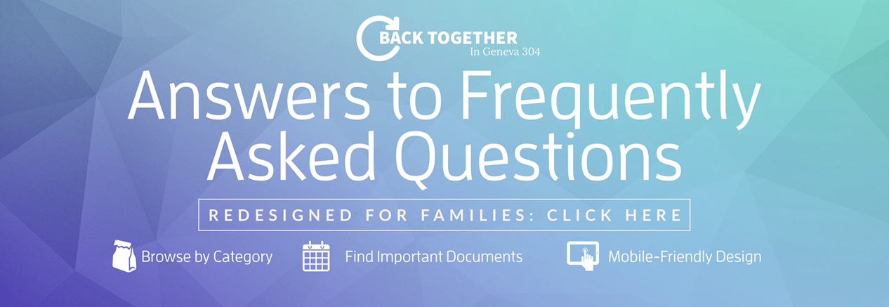FAQs Covid Banner click to read answers