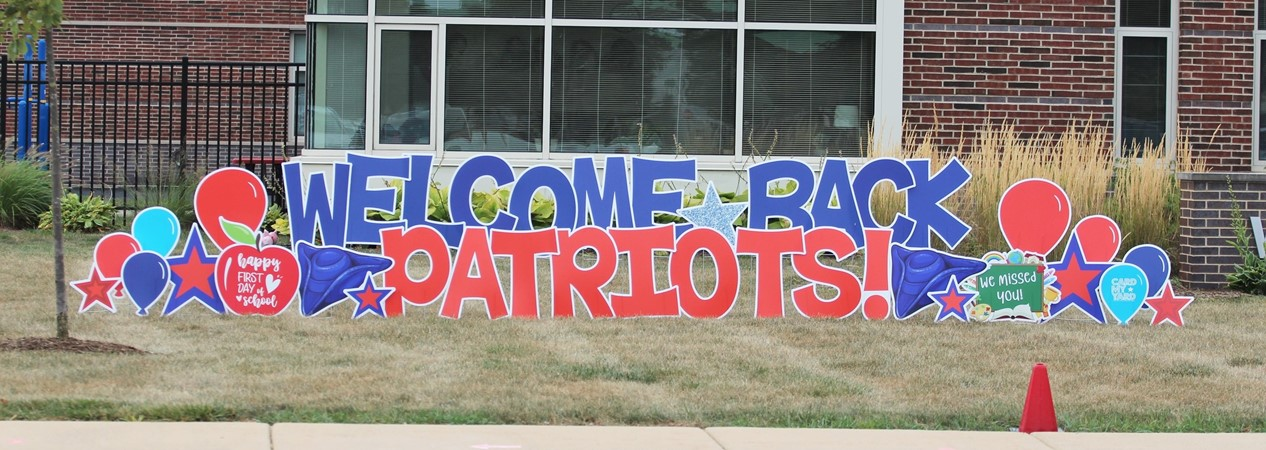 WES Welcome Back Banner