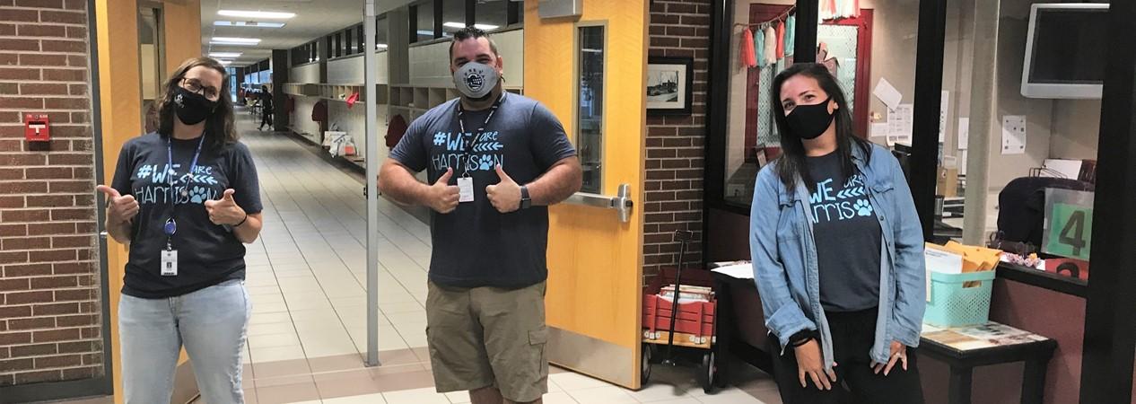 HSS Staff Return to School