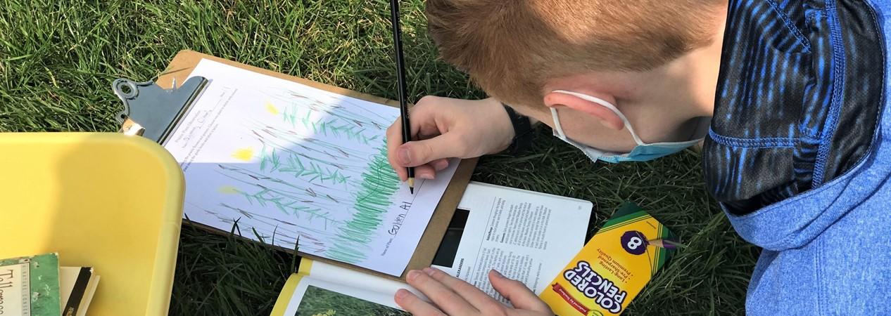 GMSN Students Observe Prairie Life
