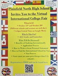 Virtual International College Fair