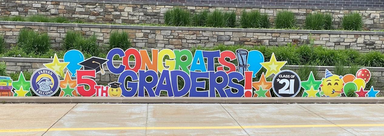 FES 5th Grade Sign 2021