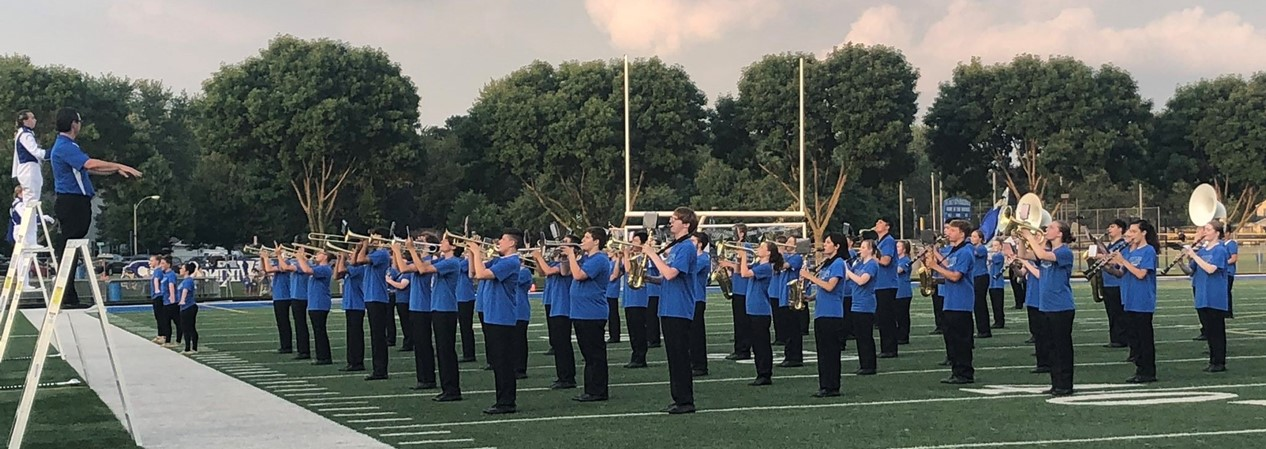 GHS Band Performs at Corn Boil