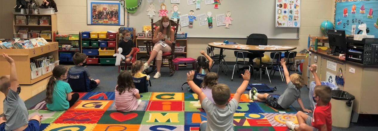 WAS Kindergarten Student introductions